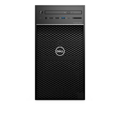 Dell pc: Precision 3630 - Zwart