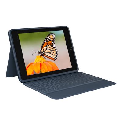 Logitech Rugged Combo 3 Mobile device keyboard - Blauw