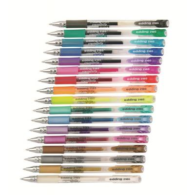 Edding pen: 2185 gel roller - Transparant