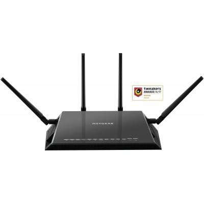 Netgear wireless router: Nighthawk Nighthawk R7800 X4S AC2600 Dual-Band Smart WiFi Router - Zwart