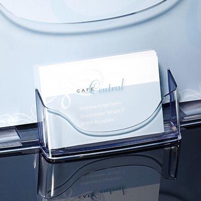 Sigel ordner: Tafelstandaard voor folders acrylic, glashelder, voor A4 - Transparant