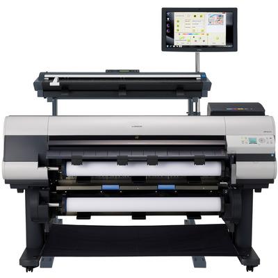 Canon grootformaat printer: imagePROGRAF iPF825 - Zwart, Cyaan, Magenta, Mat Zwart, Geel