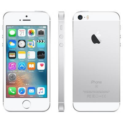 Apple smartphone: iPhone SE 16GB Silver - Zilver, Wit (Refurbished LG)