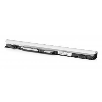 Hp batterij: RA04 notebookbatterij - Zilver (Refurbished ZWG)