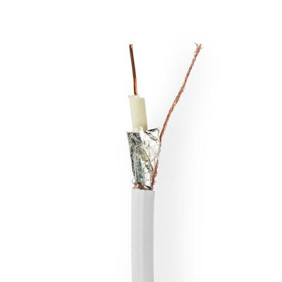 Nedis CSBG4010WT250 Coax kabel - Wit