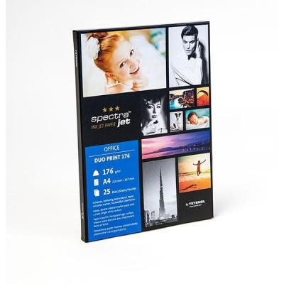 Tetenal fotopapier: SpectraJet Duo Print Paper 176gsm A4 25 sheets