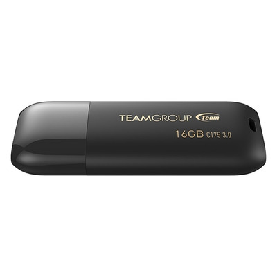 Team Group C175 USB flash drive - Zwart