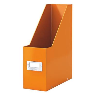 Leitz tijdschrift houder: Click & Store - Oranje