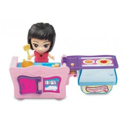 Vtech children toy figure: 80-159504 - Violet, Geel