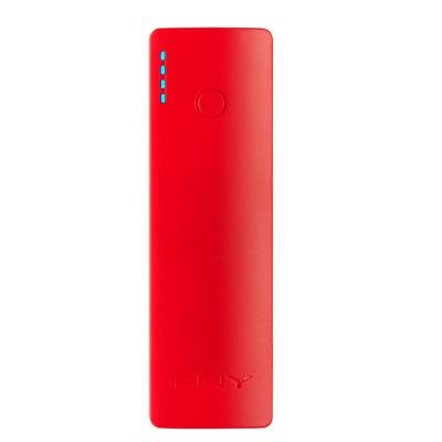Pny powerbank: PowerPack Curve 2600 - Rood