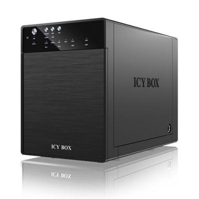 Icy box HDD/SSD docking station: IB-3640SU3 - Zwart