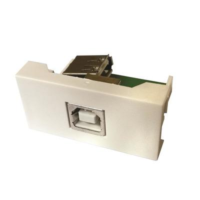 Garbot FA-2420-USB-BF/AF-9L Wandcontactdoos