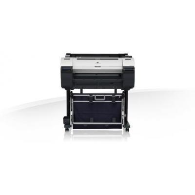 Canon grootformaat printer: imagePROGRAF iPF670 + L24 + PF670 - Zwart, Cyaan, Magenta, Mat Zwart, Geel