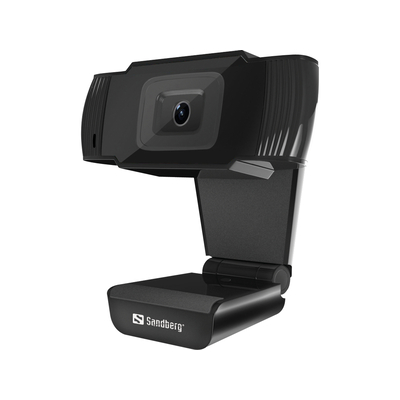 Sandberg USB 480P Saver Webcam - Zwart