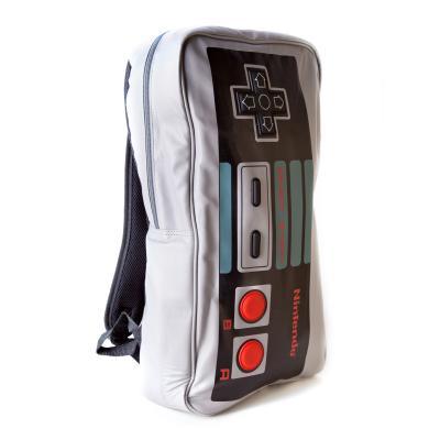 Nintendo game: - Big Controller - Rugzak (Grijs)