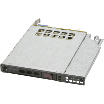 Supermicro MCP-220-81506-0N Drive bay - Zwart, Metallic