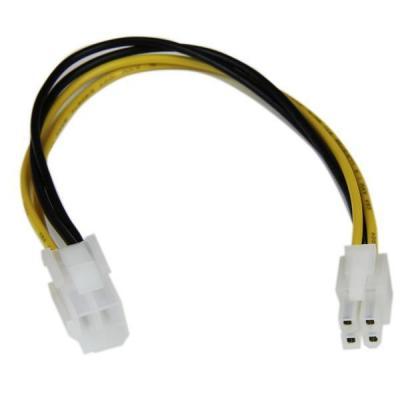Startech.com : 20cm ATX12V 4-pins P4 CPU Verlengkabel Voeding M/F