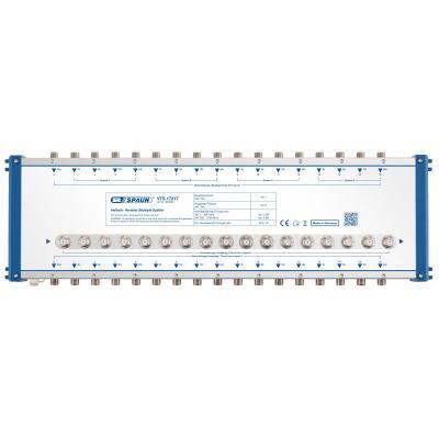 Spaun VTS 17217 Kabel splitter of combiner - Blauw, Zilver
