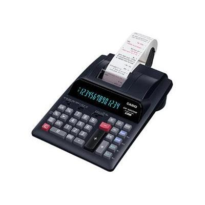 Casio calculator: DR-320TEC bureaurekenmachine - Zwart