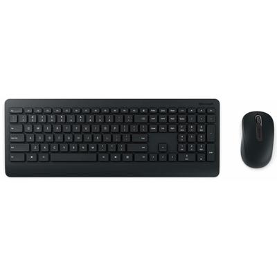Microsoft Wireless Desktop 900 - QWERTZ toetsenbord - Zwart