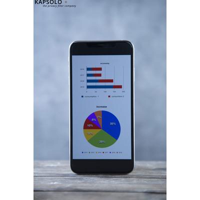 KAPSOLO 3H Anti-Glare Screen Protection / Anti-Glare Filter Protection for iPhone 12 PRO MAX Screen protector
