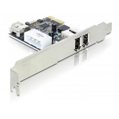Delock interfaceadapter: 3-port FireWire PCI Express Card