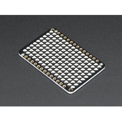 Adafruit : LED Charlieplexed Matrix - 9x16 LEDs - Red