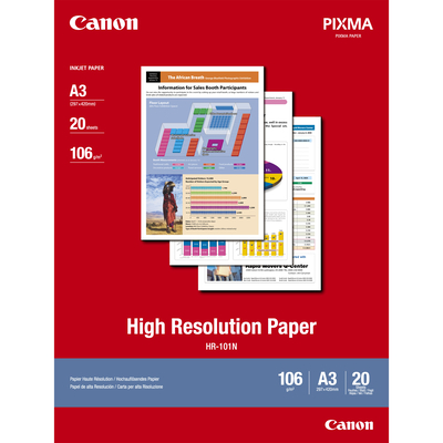 Canon papier: HR-101 A3 Paper high resolution 20sh