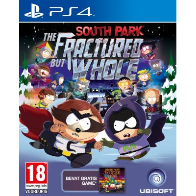 Ubisoft game: South Park: The Fractured but Whole  PS4