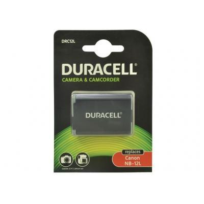 Duracell batterij: 1800 mAh, 3.7 V, 6 Wh, 34 g - Zwart