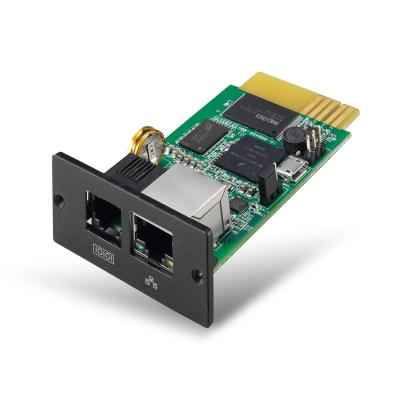 V7 SNMP Network Card for UPS 1500VA/3000VA Rack Mount - Zwart, Groen