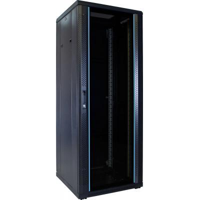 DS-IT 32U serverkast met glazen deur 600x600x1600mm (BxDxH) Rack