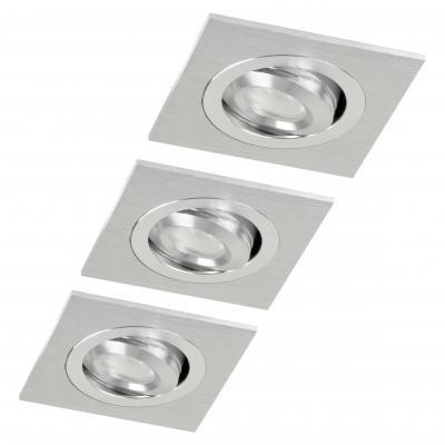 Xq-lite plafondverlichting: XQ0964 LED inbouwspots - Zilver