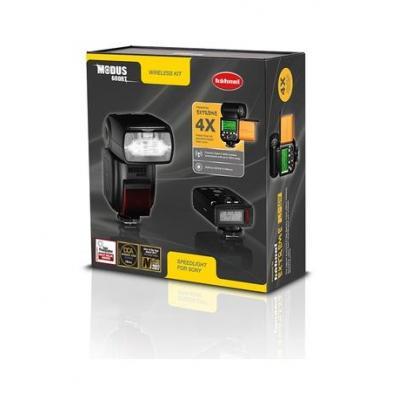 Hahnel MODUS 600RT WIRELESS KIT FOR SONY Camera flitser - Zwart