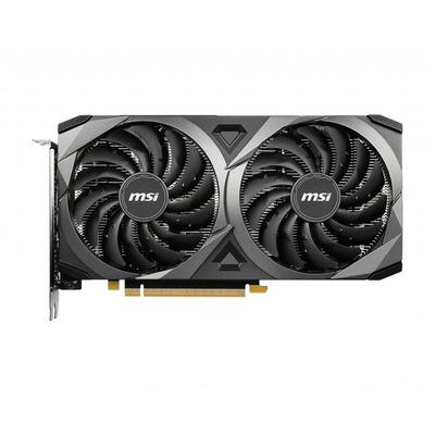 MSI GeForce RTX 3060 VENTUS 2X 12G Videokaart - Zwart