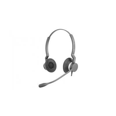 Jabra BIZ 2300 QD Duo headset - Zwart