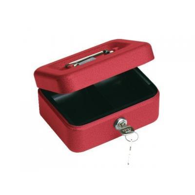 Beaumont geldkist: Cashbox 41 red - Rood