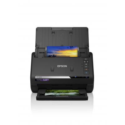 Epson FastFoto 3 jaar on-site garantie Scanner - Zwart