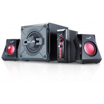 Genius luidspreker set: SW-G2.1 1250 - Zwart