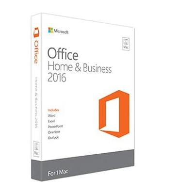 Microsoft software suite: Office Home & Business 2016 for Mac