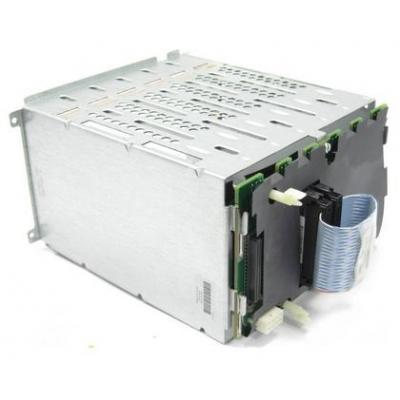 Hp Computerkast onderdeel: SCSI backplane Simplex with 6x1in drive cage - Grijs