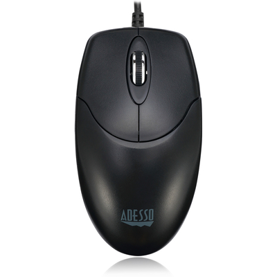 Adesso iMouse M6 - Optical Scroll Mouse Muis - Zwart