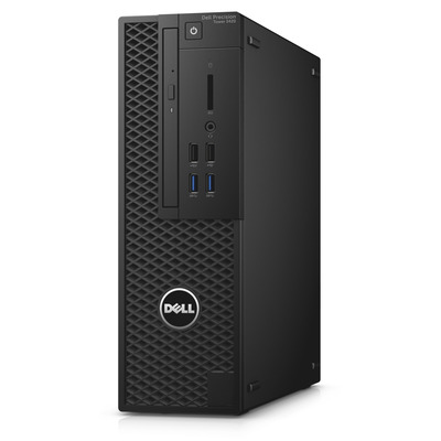 Dell pc: Precision T3420 - Zwart