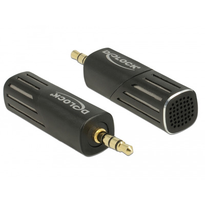 DeLOCK 65894 Microfoon - Zwart