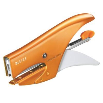 Leitz WOW 5531 Nietmachine - Oranje, Wit