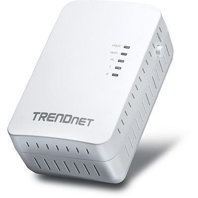 Trendnet powerline adapter: Powerline 500 AV2 Wireless Access Point - Wit