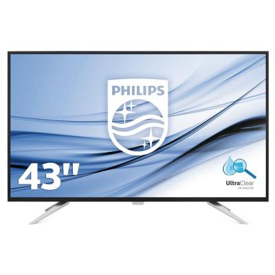 Philips monitor: Brilliance 4K Ultra HD LCD-scherm BDM4350UC/00 - Zwart
