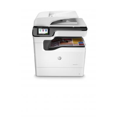 HP multifunctional: PageWide Color MFP 774dn - Zwart, Cyaan, Magenta, Geel