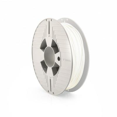 Verbatim Tefabloc TPE, 2.85mm, 500g, wit 3D printing material