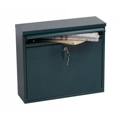 Phoenix postbus: 315 x 365 x 115 mm, Key Lock, 3 kg, Green - Groen